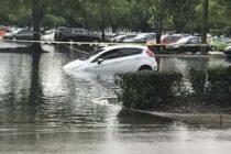 Lluvias e inundaciones en fin de semana festivo