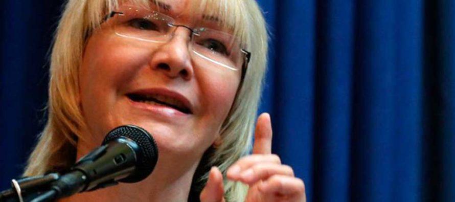 Ex Fiscal General Luisa Ortega Díaz asegura que en Venezuela habrá justicia en relación con el casoOdebrecht