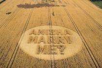 Inusual propuesta de matrimonio en helicóptero (Video y Fotos)