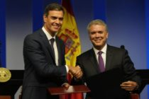 Presidentes Duque y Sánchez hablaron de migraciones y el galeón