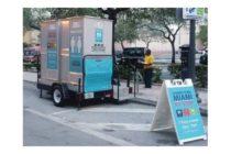 El primer baño público permanente en el centro de Miami abrirá el miércoles
