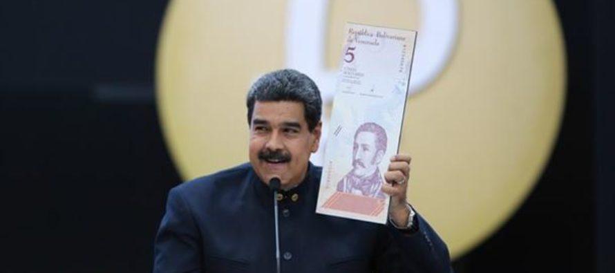 Valor real de nuevo bolívar venezolano se redujo a la mitad en 19 días