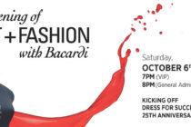Bacardí prepara la «Noche del Arte y la Moda» en honor a Celia Cruz