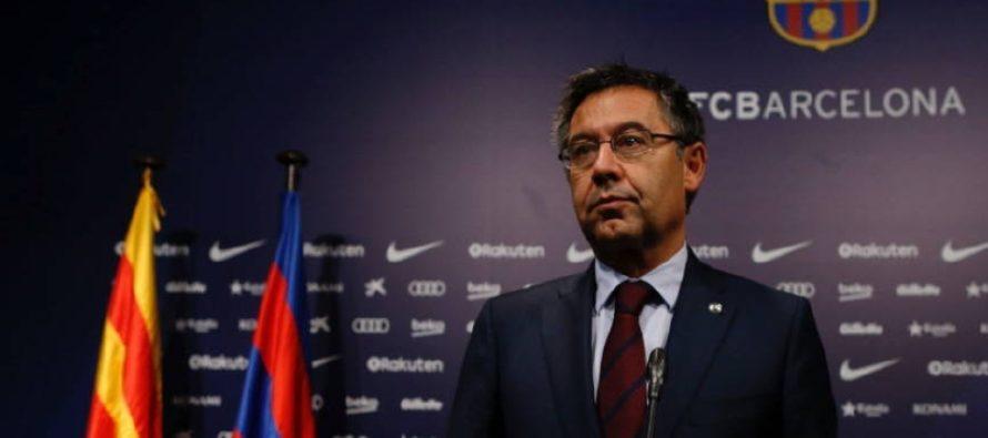 Presidente del Barcelona defiende a toda costa el juego en Miami