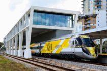 Dos personas heridas dejó el choque entre el tren rápido Brightline y un vehículo en Fort Lauderdale