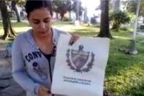 Joven prende fuego al proyecto de Constitución cubana en La Habana