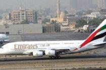 Avión de Emirates fue puesto en cuarentena tras llegar a Nueva York con pasajeros enfermos
