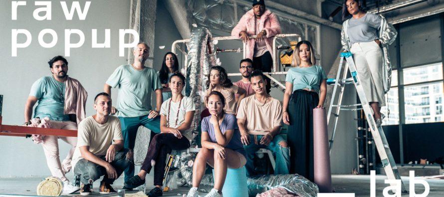 RAW Pop Up / Lab: arte interactivo que rompe con el contexto tradicional de la industria