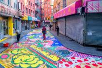 Calle de Nueva York convertida en obra de arte del grafiti
