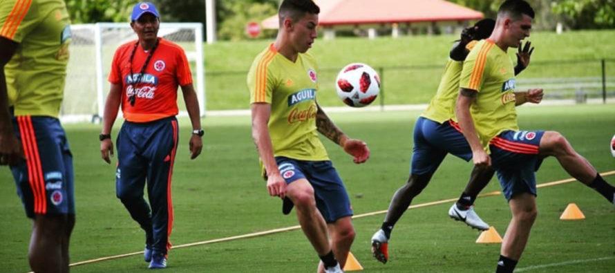 Colombia usará frente a Venezuela mayor cantidad de jugadores que fueron al mundial
