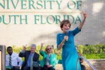 Termina una era: Judy Genshaft se retira de la Universidad del Sur de Florida