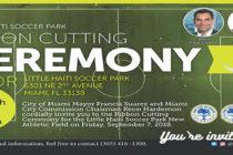 El recién remodelado Little Haiti Soccer Park reabrirá sus puertas este viernes
