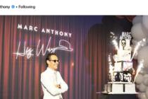Así celebró Marc Anthony su cumpleaños 50 en Miami