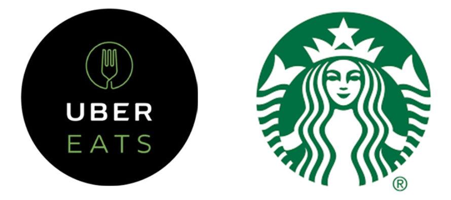 UberEats en alianza conStarbuckspara delivery de comida y bebidas en el sur de Florida
