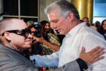 Según El Lumpen, Diaz Canel condecoró al Chulo  en Cuba