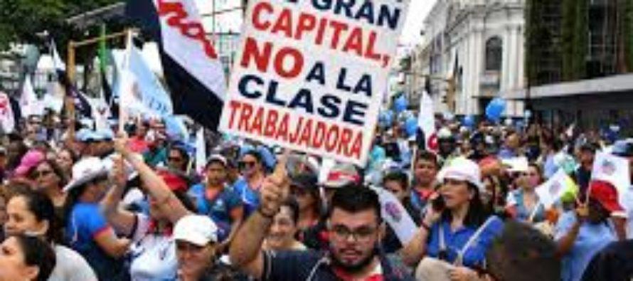 Costa Rica sacudida por la mayor huelga en casi dos décadas