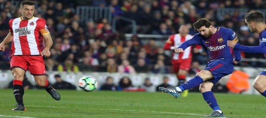 Fútbol: se cocina encuentro entre el Barcelona y el Girona en el Hard Rock Stadium de Miami