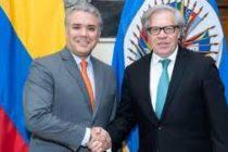Presidente colombiano pide a la OEA liderar respuesta a crisis generada por éxodo de venezolanos