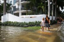 UniVista: Marea Real, el agua brota de la propia tierra y se inunda todo.