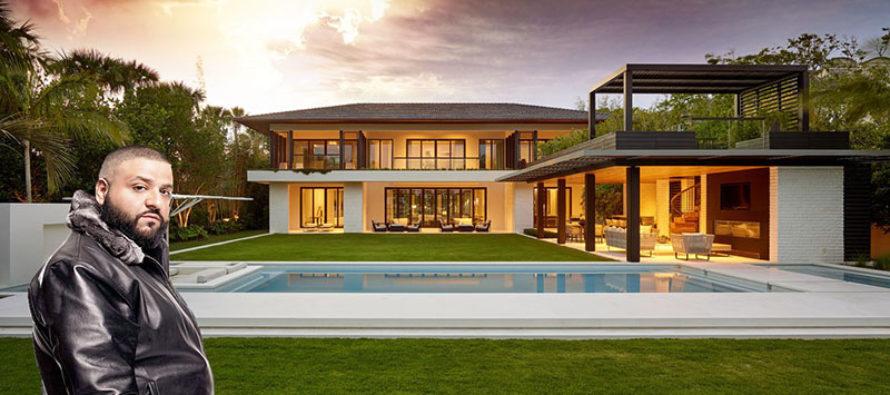 DJ Khaled adquiere mansión por $ 25.9 millones en Miami Beach