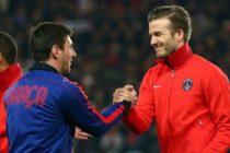 Beckham sueña con tener a Messi en el Inter Miami