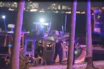 Murió uno de los rescatados de barco hundido en la Bahía de Biscayne