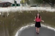 The Weather Channel explicó los alcances de Florence con impresionante efecto de realidad aumentada