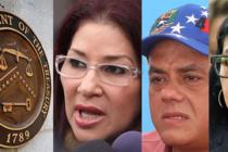 Departamento del Tesoro emite nuevas sanciones contra Cilia Flores y los hermanos Rodríguez en Venezuela