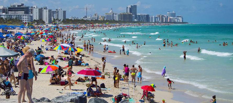 Florida registra un nuevo récord de turistas