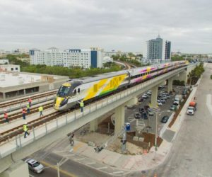 Murió mujer en Lake Worth tras ser atropellada por tren Brightline