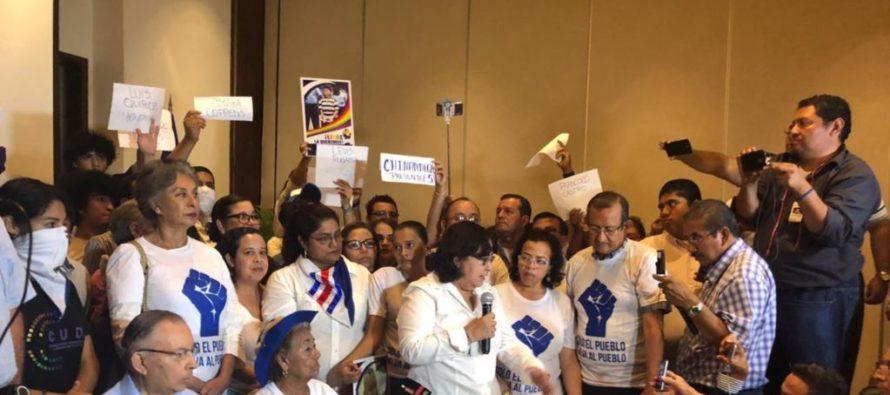 43 movimientos opositores unificados pretenden promover diálogo nacional con Daniel Ortega