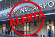 Alerta en Aeropuerto Internacional de Miami por amenaza explosiva