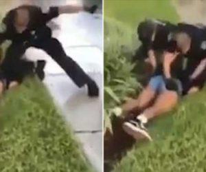 Violento arresto de una adolescente en Coral Spring (Video)