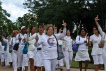 20 Damas de Blanco arrestadas el domingo en Cuba