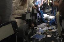 Fuerte turbulencia en un vuelo de Miami a Buenos aires dejó 15 heridos