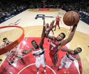 Heat lograron milagrosa victoria de último segundo ante Wizards