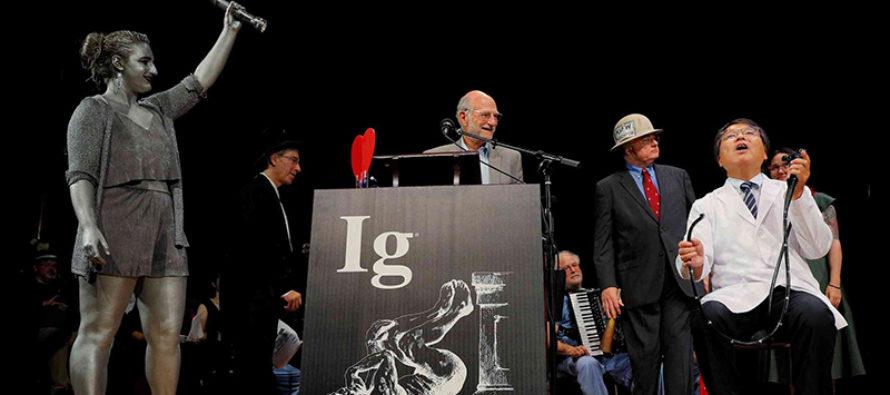 Estos son los ganadores de los Premios Ig Nobel 2018