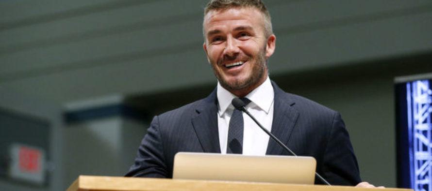 David Beckham presentó el proyecto del Miami Freedom Park
