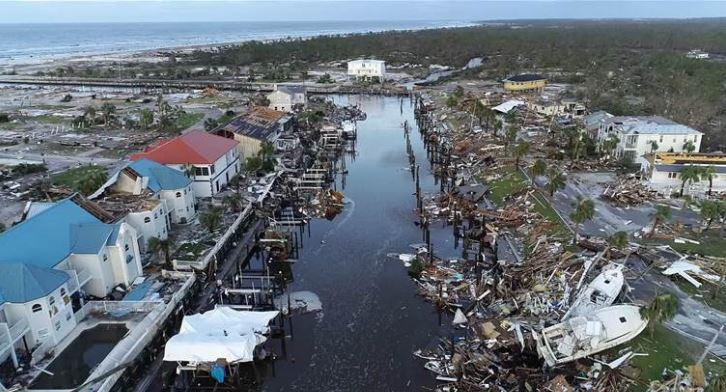 Delincuentes saquean a víctimas del huracán Michael