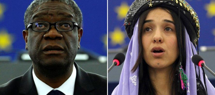 Su trabajo contra la violencia sexual en guerras convirtió a dos luchadores en ganadores del Premio Nobel de la Paz 2018