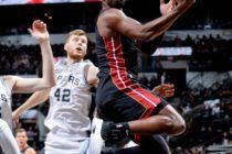Heat se estrenó con derrota en la pretemporada ante Spurs