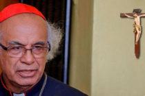 Cardenal Brenes convocó a la policía nicaragüense a construir la paz