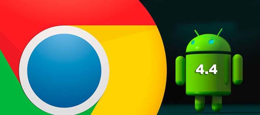 Google Chrome dejaría de funcionar en 32 millones de móviles Android