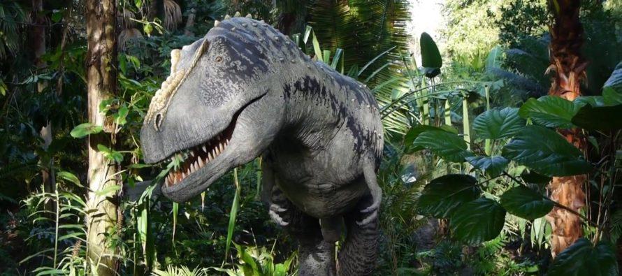 Dinosaurios invaden Centro de Ciencias del Sur de la Florida