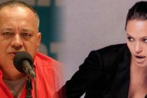 Reacción de Diosdado Cabello sobre visita de Angelina Jolie a Perú