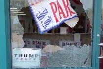 Sede del Partido Republicano en Daytona fue blanco de disparos