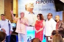 Gira por USA: Ex presidente Hipólito Mejía critica al gobierno dominicano