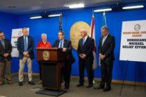 Comisionado Díaz busca donaciones para las víctimas del huracán Michael