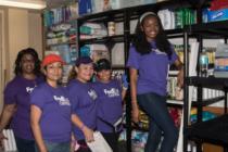 Empleados de FedEx participaron como voluntarios en el hogar de niños de His House