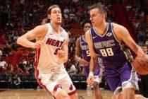 Kings infligieron la peor derrota de la temporada en casa al Heat